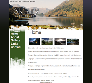 Skiary website